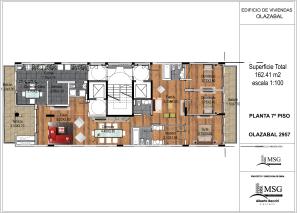Unidad A piso 7