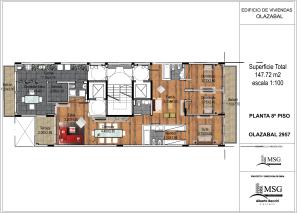 Unidad A piso 8