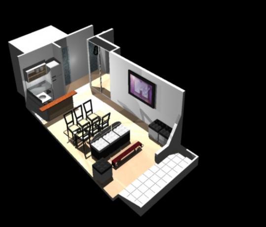 Departamento en 3D